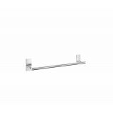 Product image for Smedbo Pool Single Towel Rail in Polished Chrome ZK346