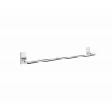 Product image for Smedbo Pool Single Towel Rail in Polished Chrome ZK3464