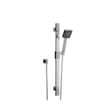 Product image for Phoenix Modern Square Slide Rail Shower Kit 8