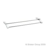 Product image for Bristan Twist Double Towel Rail