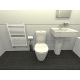 Product image for Veneto Basin & WC Suite