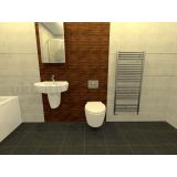 Product image for Enna Basin & Wall Hung WC Suite