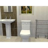 Product image for Rome Basin, Toilet & Taps Suite
