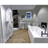 Product image for Novara Basin, WC, Shower & Bath Suite