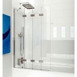 Product image for Kudos 4 Panel Compact Bath Screen