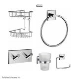 Product image for Smedbo House 5 Piece Accessory Set