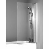 Product image for Phoenix Single Square Bath/Shower Screen
