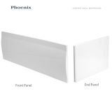 Product image for Phoenix Acrylic End Bath Panel