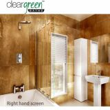 Product image for ClearGreen Hinged Bath Screen Four-fold