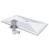 Product image for Impey Aqua-Dec 2 1000x1000mm Wet Room Package