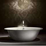 Product image for Kaldewei Ellipso Duo Oval Freestanding Steel Bath