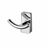 Product image for Inda Storm Chrome Double Robe Hook