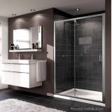 Product image for Huppe X1 Sliding Door Shower Enclosure