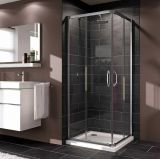 Product image for Huppe X1 Sliding Door Corner Entry Shower Enclosure