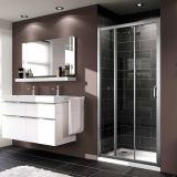 Product image for Huppe X1 3 Panel Sliding Door Shower Enclosure