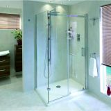 Product image for Aqata Spectra Sliding Door Shower Enclosure SP305 (Corner)