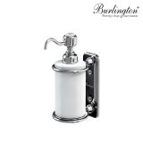 Product image for Burlington Traditional Wall Mounted Liquid Soap Dispenser