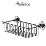 Product image for Burlington Traditional Square Deep Soap Basket
