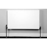 Product image for Apollo Milano 400mm Horizontal Plan Radiator