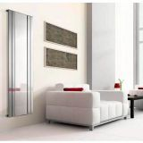 Product image for Apollo Empoli Vertical Chrome Radiator with Mirror