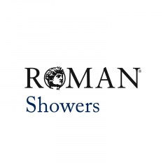 Roman Showers Black Bathrooms