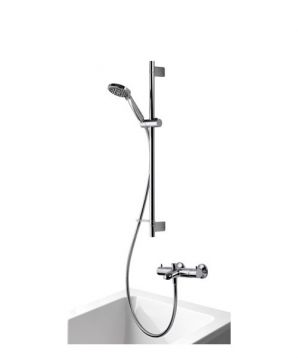Product image for Aqualisa Midas 300BSM Bath Shower Mixer With Slide Rail