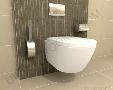 Product image for Laufen Pro & Geberit Complete Wall Hung Toilet Pack