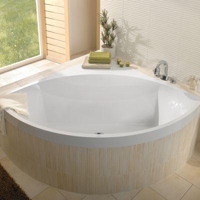 Villeroy and Boch Squaro Corner Quaryl Bath - UBQ145SQR3V01