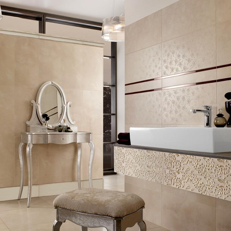 Villeroy Boch Ivoire Decor Tile 2394 30 X 60cm Uk Bathrooms