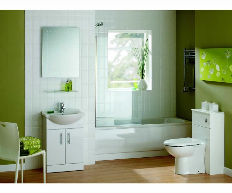 Essential Gem 550 Vanity Unit And Basin UK Bathrooms