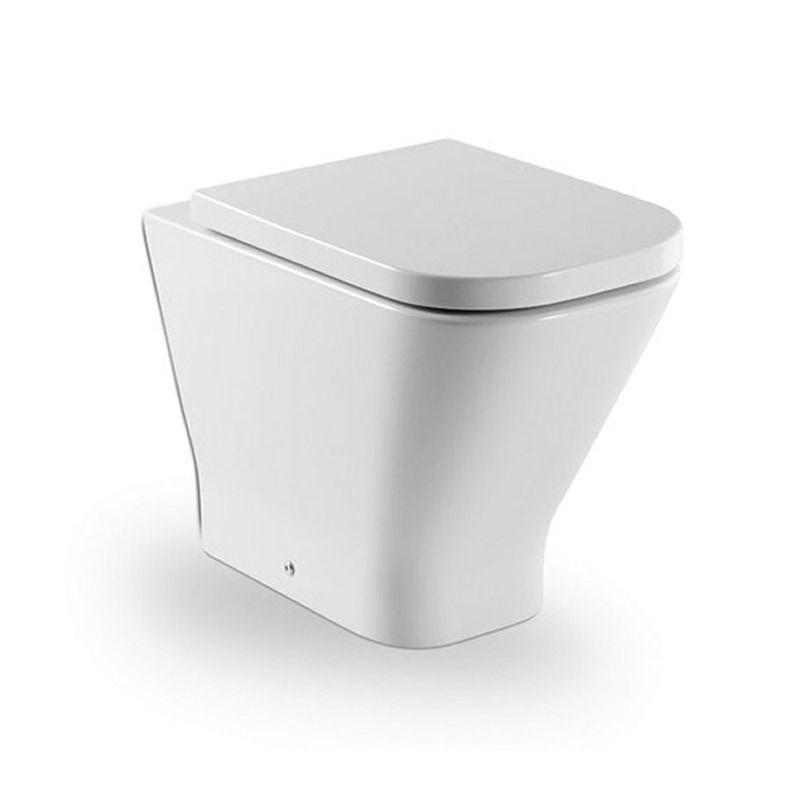 roca the gap back to wall wc pan uk bathrooms. Black Bedroom Furniture Sets. Home Design Ideas