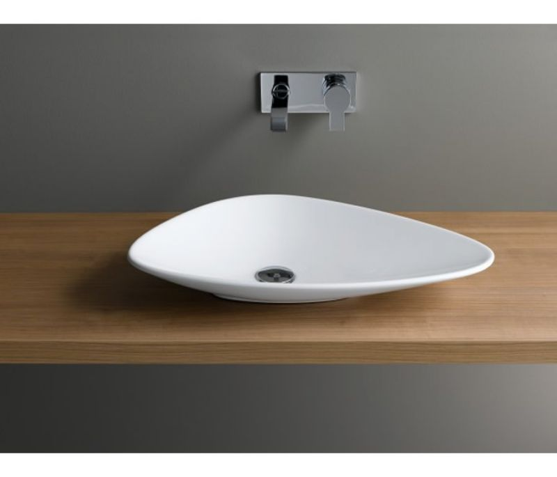 Vitra Options Piu Due Triangular Countertop Basin Uk Bathrooms