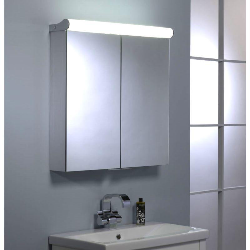 for roper rhodes ascension latitude double door illuminated cabinet