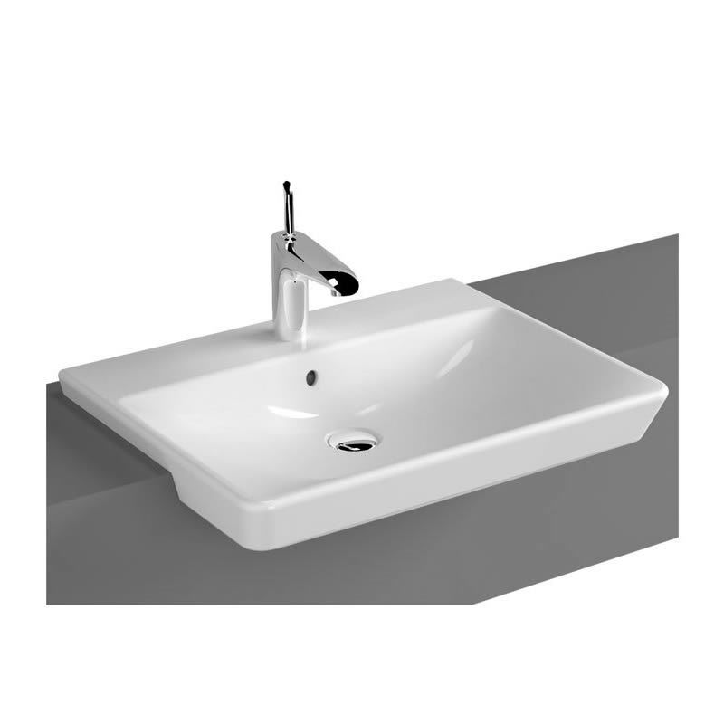 New  E3102 Home Bathrooms Basins And Sinks Recessed Semi Recessed Basins