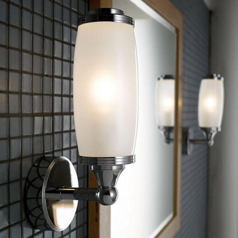 Imperial Toledo Single Wall Light & Glass Shade : UK Bathrooms
