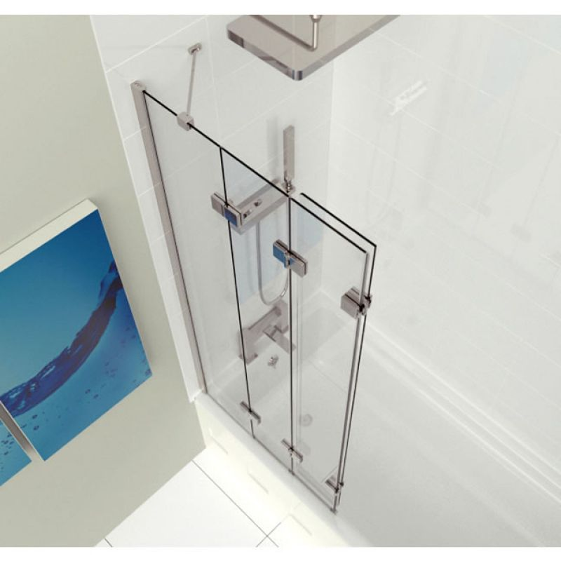Kudos 4 Panel Compact Bath Screen Uk Bathrooms