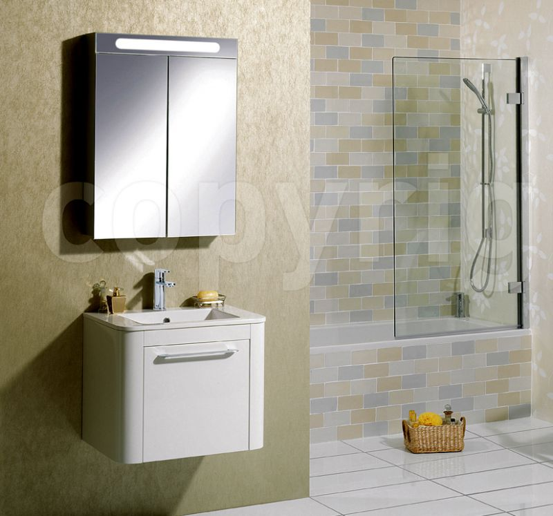 Bauhaus Kitchen Design: Bauhaus 60 Mirrored Aluminium Wall Hung Cabinet : UkBathrooms