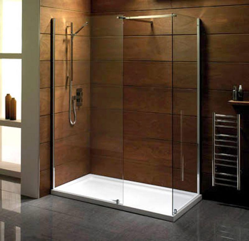 Walk in shower enclosures uk bathrooms for 1150mm shower door