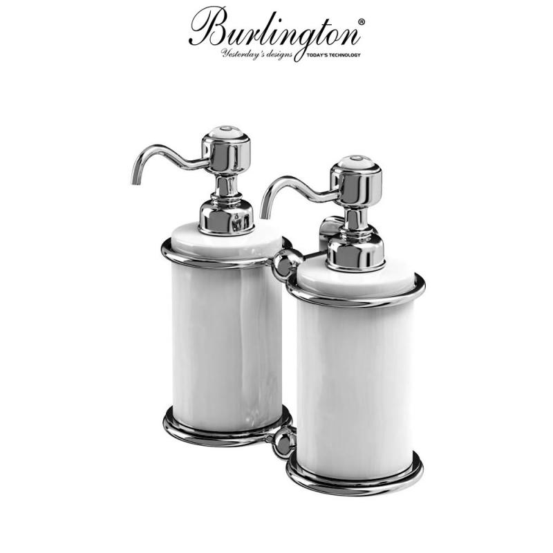 Burlington Traditional Double Liquid Soap Dispenser Uk