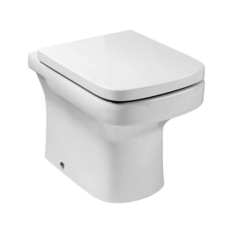 Roca dama n back to wall toilet suite uk bathrooms for Inodoro roca dama n