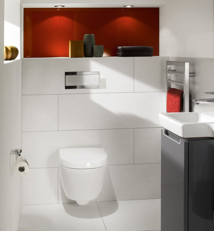 villeroy boch subway 2 0 compact wall hung wc uk bathrooms. Black Bedroom Furniture Sets. Home Design Ideas