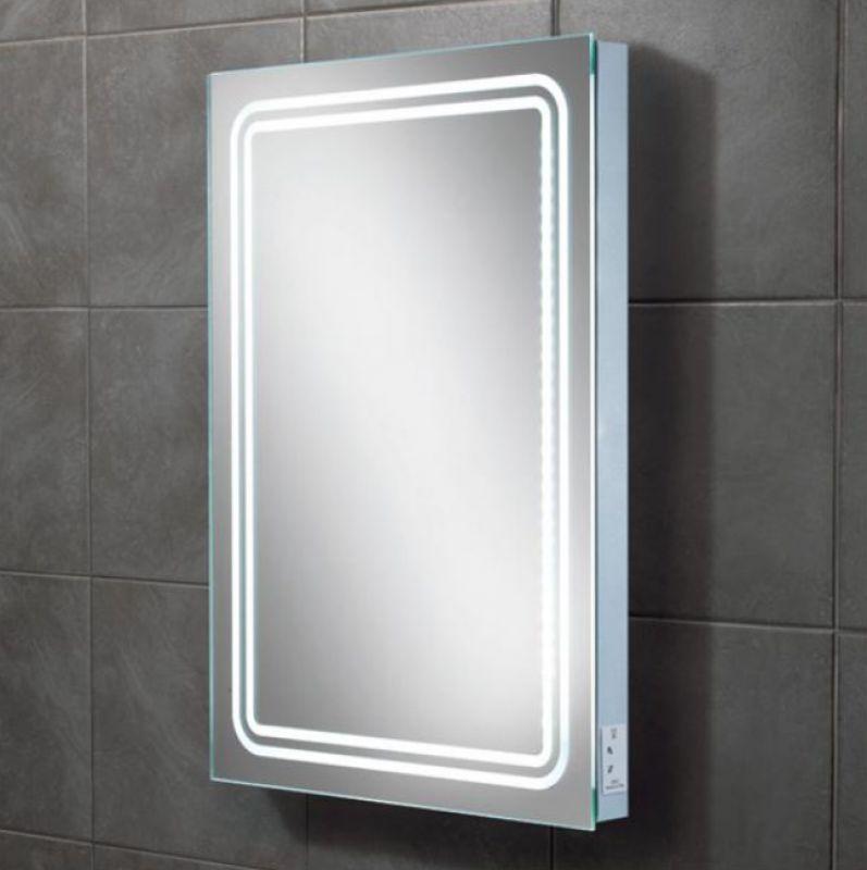 hib rotary illuminated bathroom mirror ukbathrooms