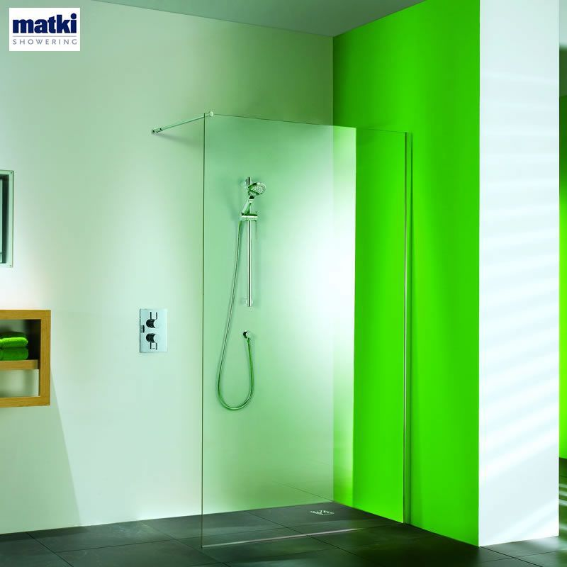 Matki Straight Wet Room Shower Panel Uk Bathrooms