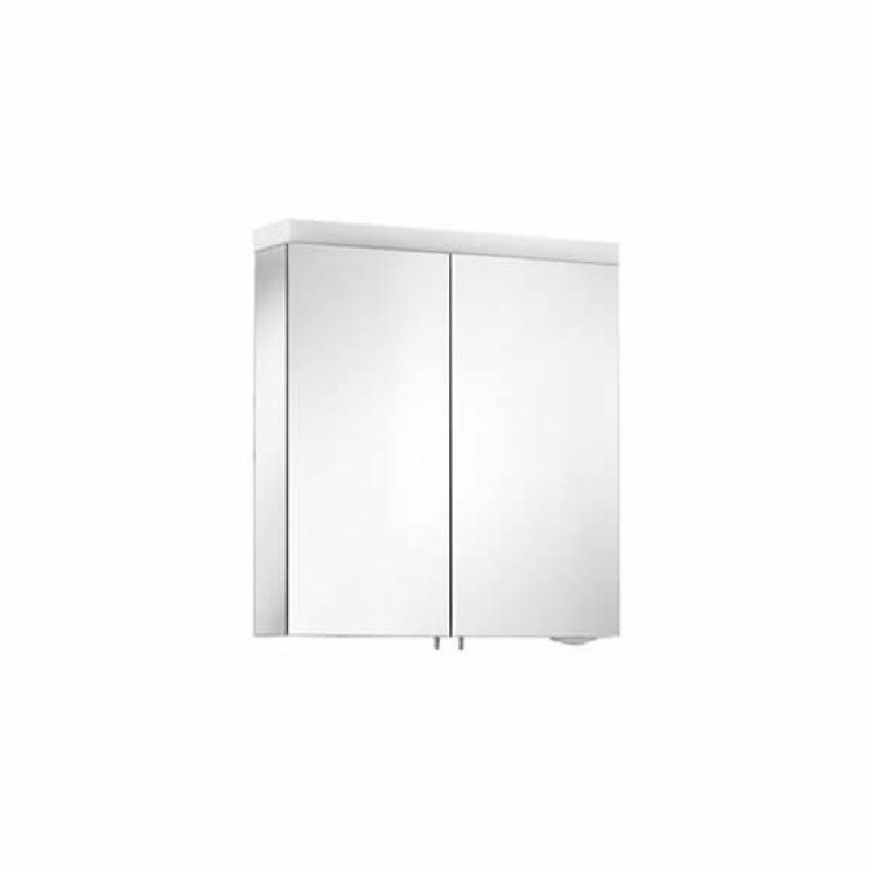 Keuco royal reflex 650mm illuminated mirror cabinet uk bathrooms - Bathroom cabinets keuco ...
