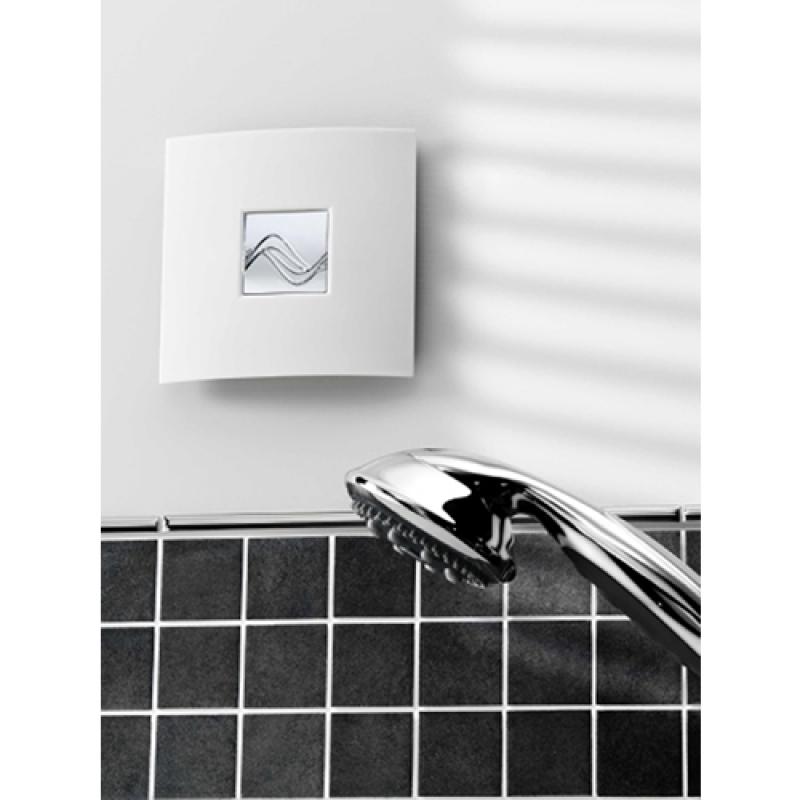 Extractor Baño Humidistato:Through Wall Bathroom Fans