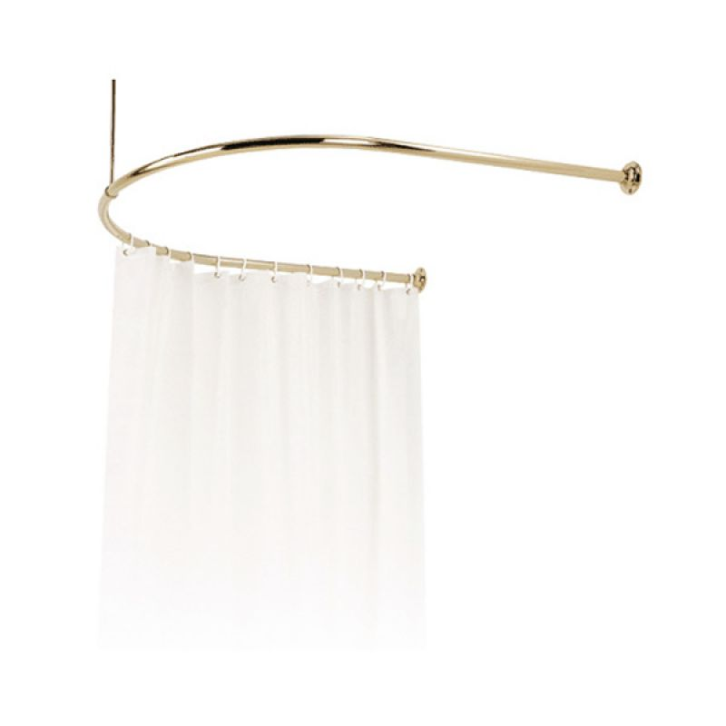 C Shaped Shower Curtain Rail Curtain Design