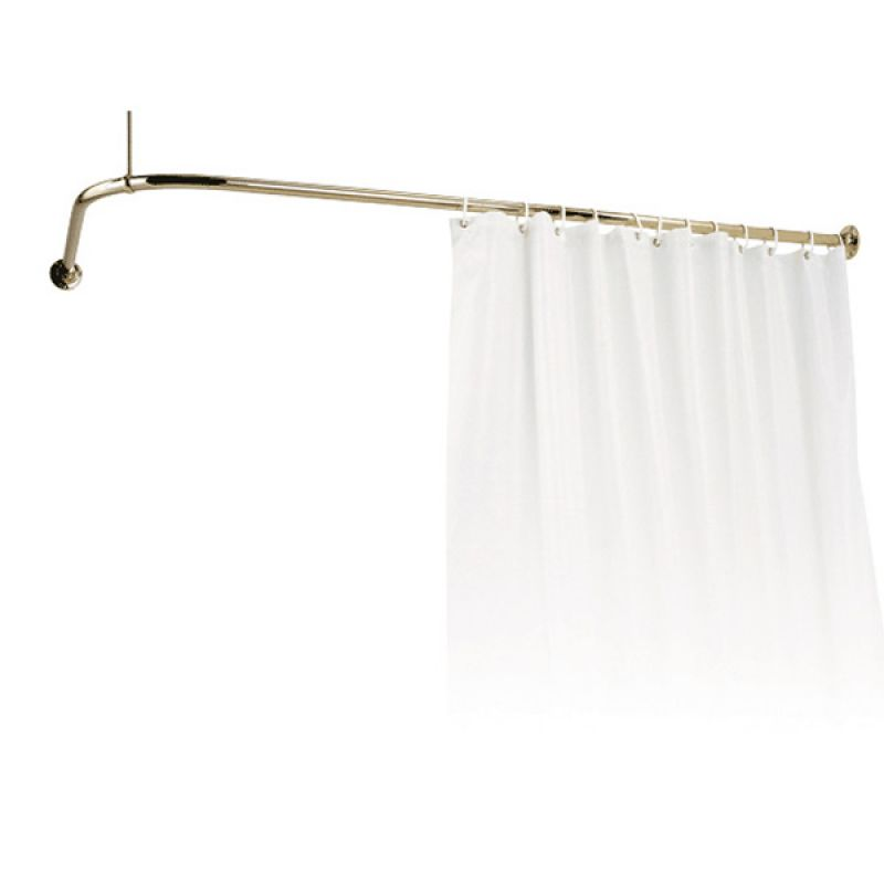 Ceiling curtain rail in Bath Accessories - Compare Prices, Read