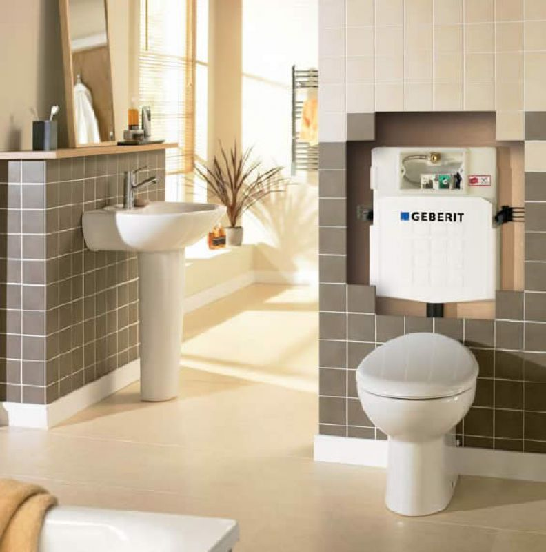 geberit sigma 12cm concealed dual flush cistern uk bathrooms. Black Bedroom Furniture Sets. Home Design Ideas