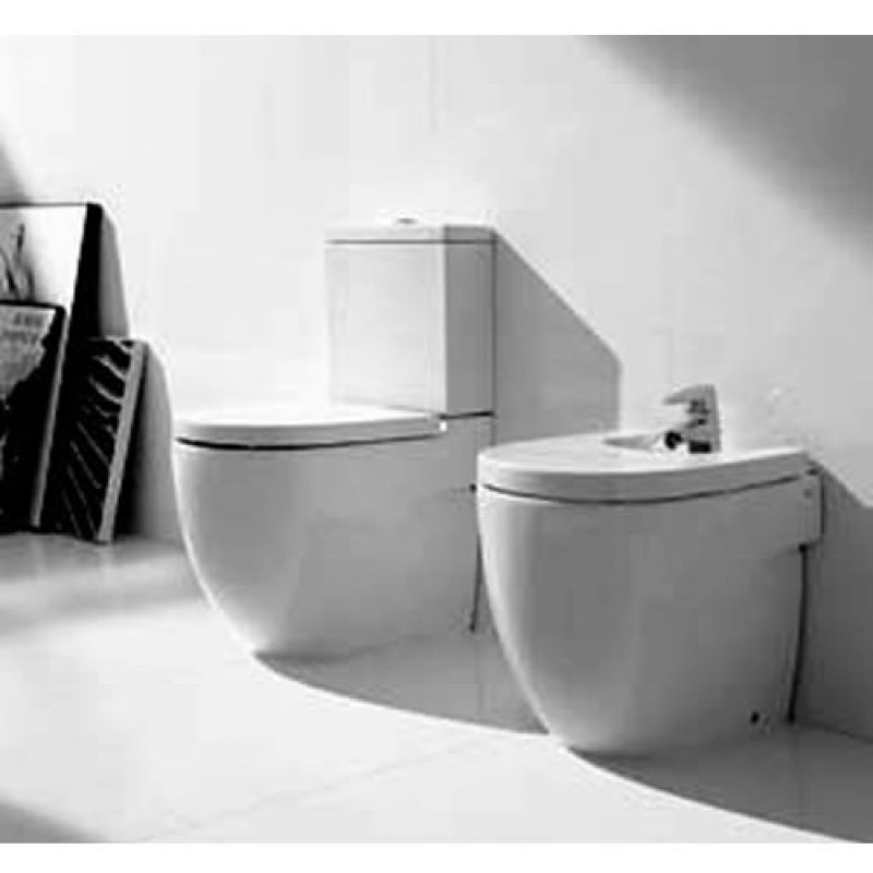 Roca meridian n floor standing back to the wall compact for Wc roca meridian