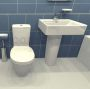 Basin & Toilet Suite
